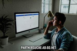 Online Dating über Soziale Netzwerke.